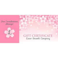 Laser Smooth Gift Certificates