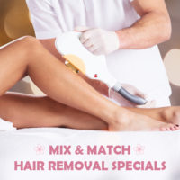 Mix & Match Hair Removal Specials For February 2020