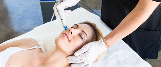 Hydrafacial treatment is a 3-step process